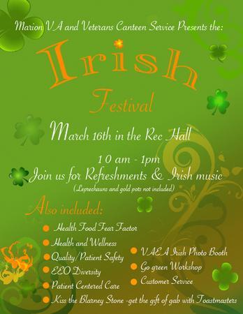 Irish festival cv