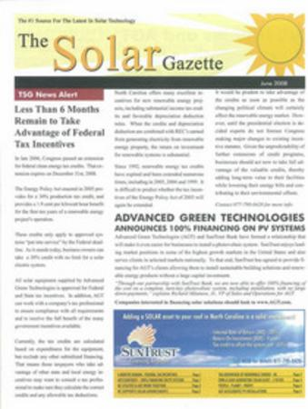 The solar gazette 1 cv thumb