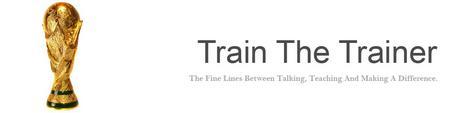 Train the trainer cv