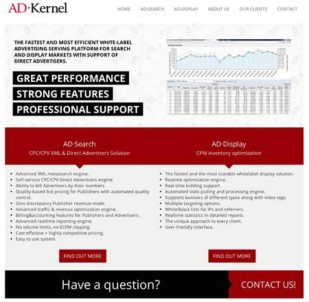 Adkernel online ad serving platform now integrates with google analytics cv