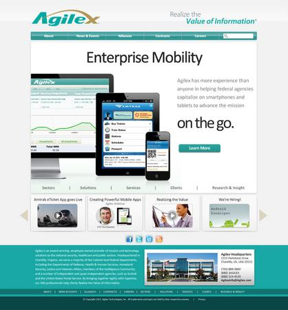Agilex site design cv