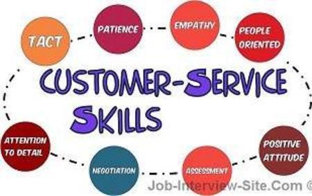 Customer service skills cv