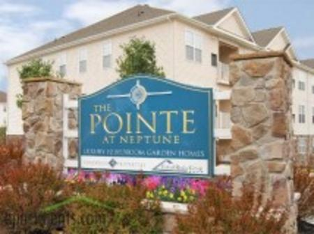 The pointe at neptune entrance small cv