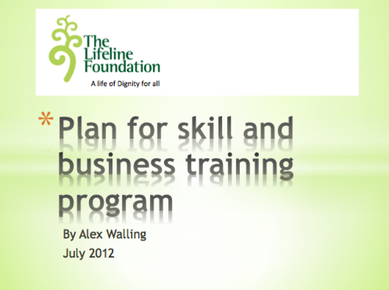 Lifeline businesstrainingprogram ppt thumbnail thumb
