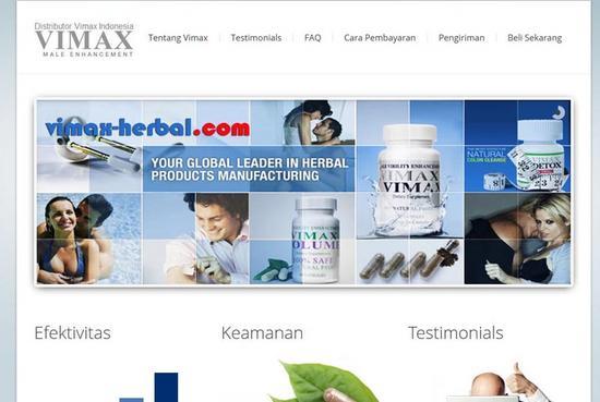 Vimax herbal cv