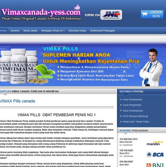 Vimaxcanada yess cv