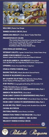 Patriotic program   pic cover thumb