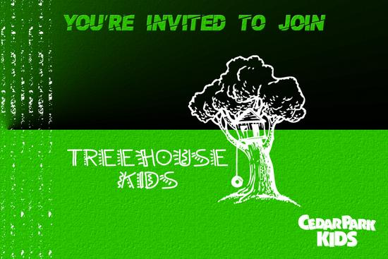 Treehouse kids invite card   front thumb