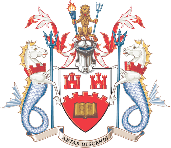 Northumbria university coat of arms cv