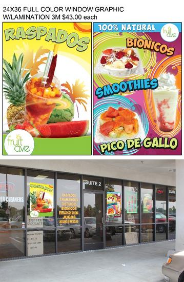 24x36 window graphics cv