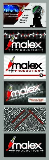Businesscard template malex  1 copy cv