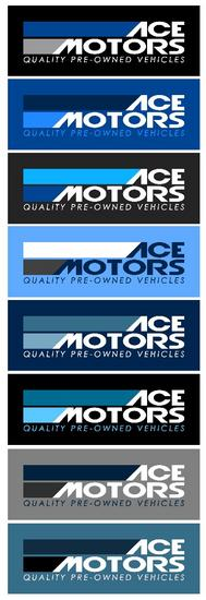 Ace logo blue colors cv