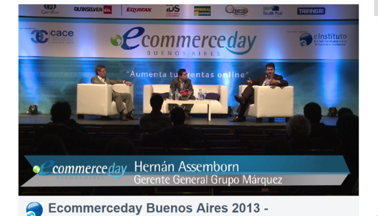 Ecommerces day cv