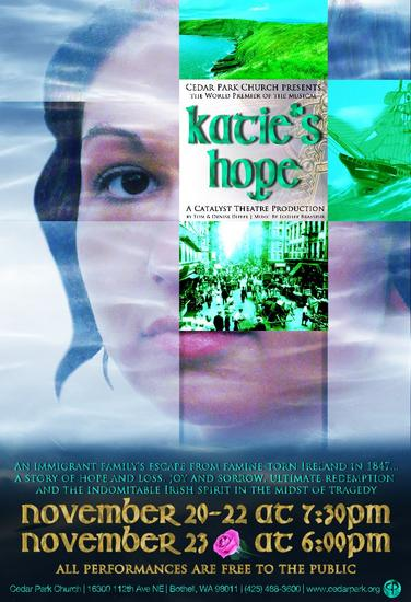 Katie s hope 13x19 poster anchored cv