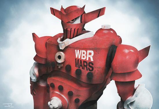3a wbr mars digitalpainting cv