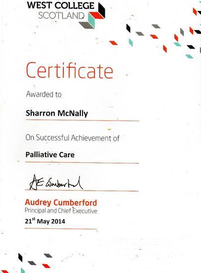 Palliative cv