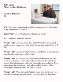 Familieswelcome cv