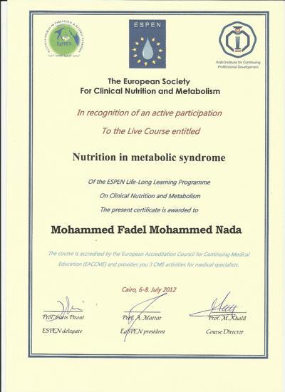 Es metabolic synd cv
