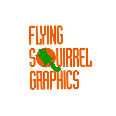 12 flyong squirrel logo cv