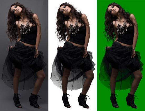 Photoshop image masking cv