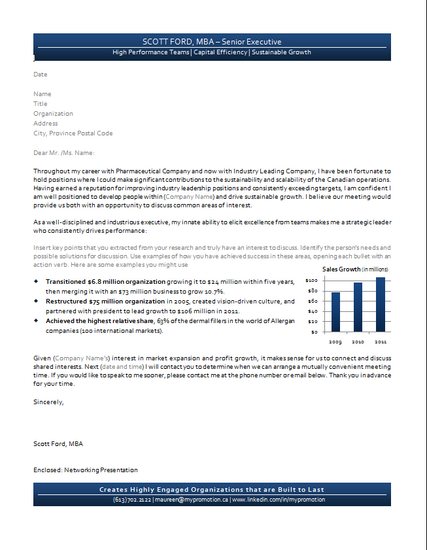 Scott ford networking letter cv