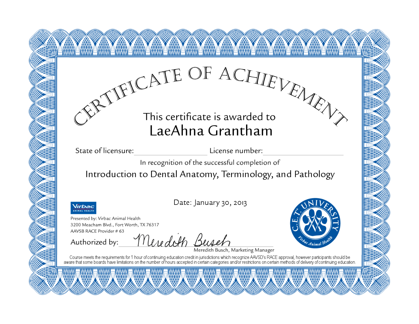 Lae Ahna Welty Certified Dog Obedience Trainer Visualcv