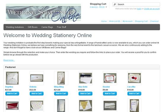 Weddingstationeryonline cv