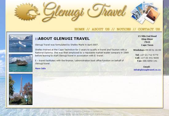 Glenugitravel cv