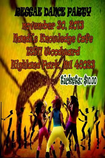 Raggae dance party cv