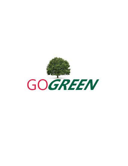 Go green logo type cv