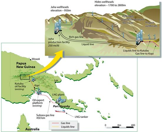 009 png lng project map cv