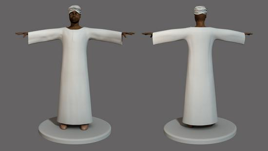 Sudanese character cv