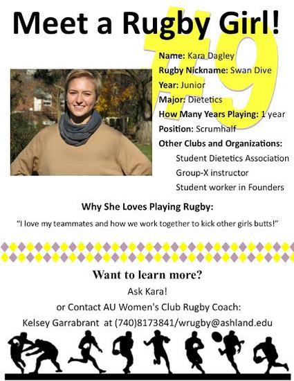 Rugby poster cv
