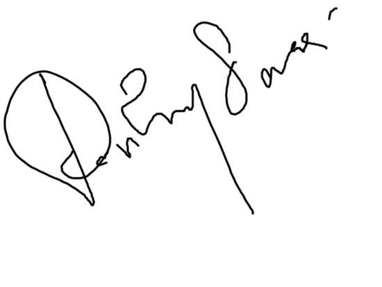 Signature cv