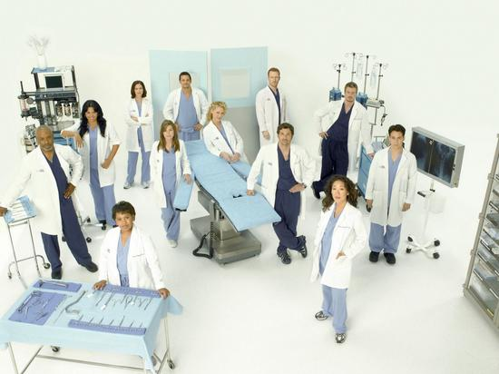 Grey s anatomy cv