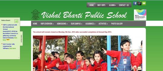 Vishal bharti school cv