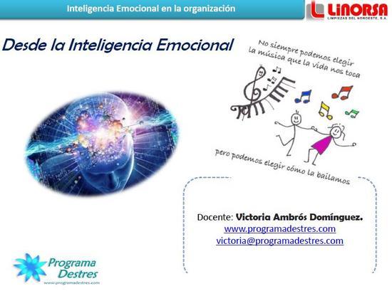 Inteligencia emocional organizaciones cv
