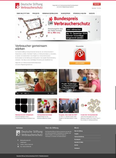 Deutsche stiftung verbraucherschutz cv