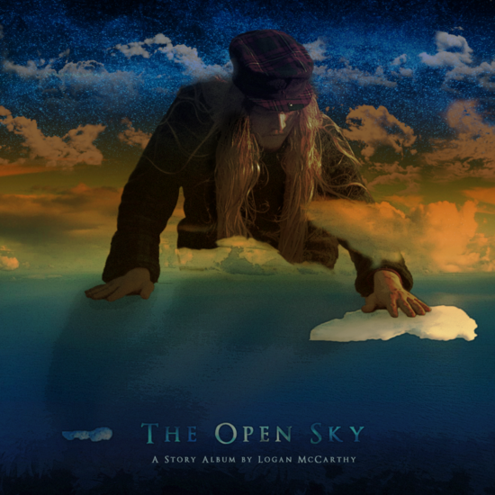 The open sky album art  square  cv