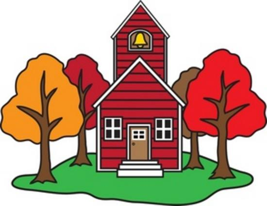 Little red old fashioned schoolhouse with bellfry 0071 0907 2808 3331 smu thumb