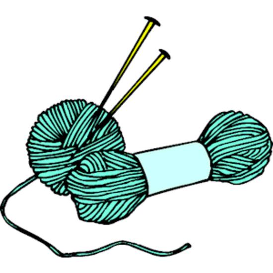 Knitting needles  yarn 2 thumb