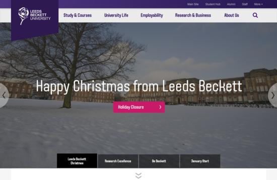 Leeds beckett university cv