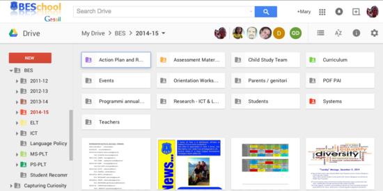 Bes google drive cv