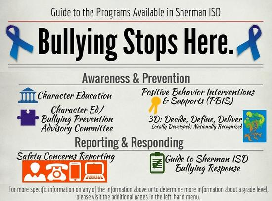 Bullying stops here home page cv