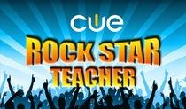 Cue rock star logo new logo cv cv