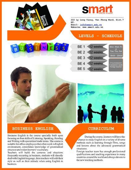Brochure bussiness cv