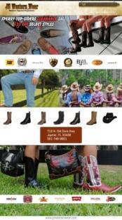 Jcwesternwear.com cv