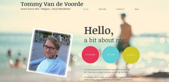 My site cv