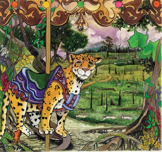 Leopard carosel stricklin cv