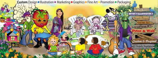 Facebook cartoon banner cv